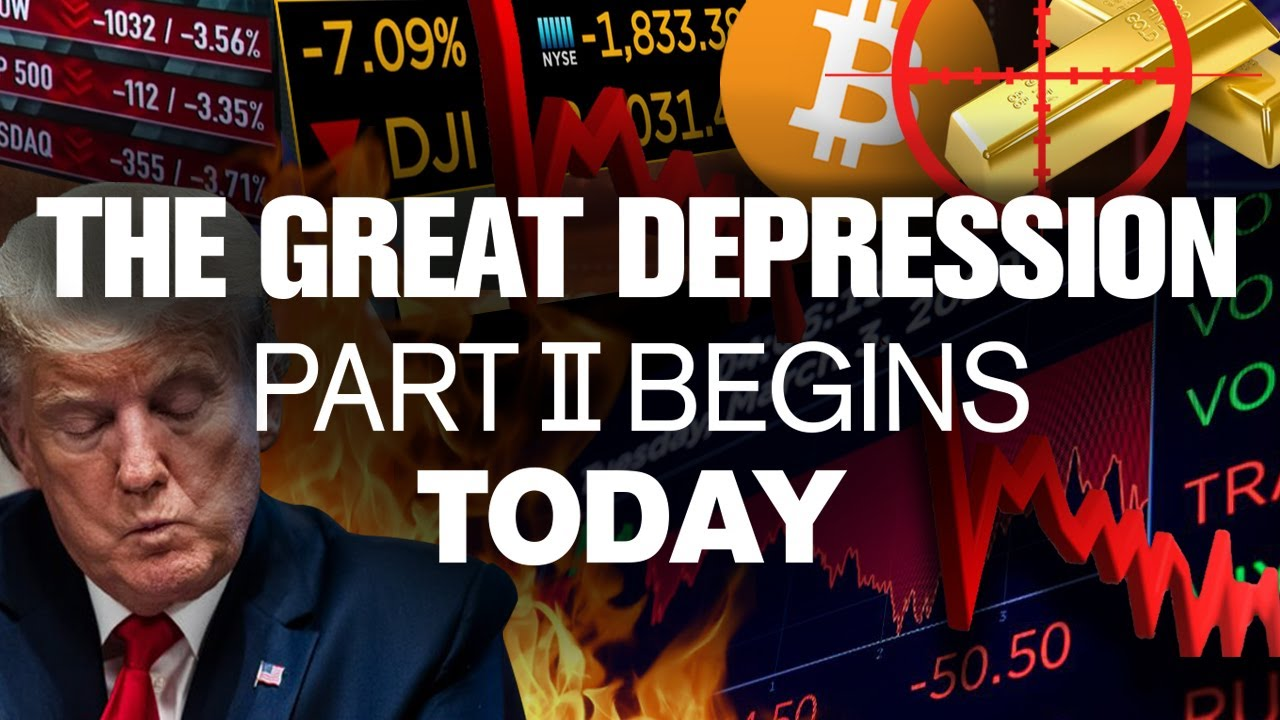 Are You Ready for the NEXT GREAT DEPRESSION!?