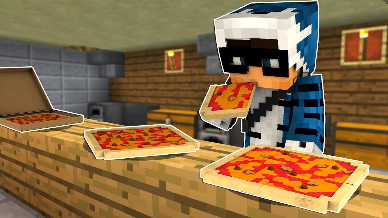 HO FATTO LA PIZZA SU MINECRAFT ITA!!!