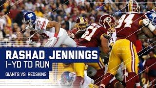 Odell Beckham Jr.'s Two Great Grabs vs. Norman Set Up Jennings' TD Dive! | NFL Wk 17 Highlights