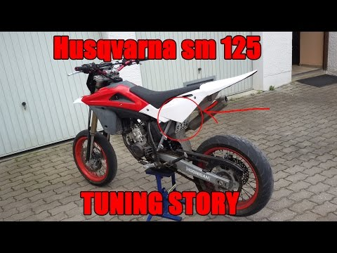 Husqvarna sm 125 2006 Tuning Story | Goodbye Husky | NEW BIKE?!