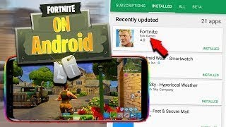 How To Download Fortnite on Android (Apk 2018) its 100% real