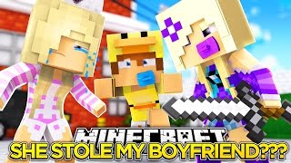 IS BABY ANGEL TRYING TO STEAL MY BOYFRIEND???- Baby Leah Minecraft Roleplay!.