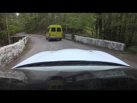 Дороги Крыма. Подъем до Ай-Петри по дороге Ялта-Бахчисарай
