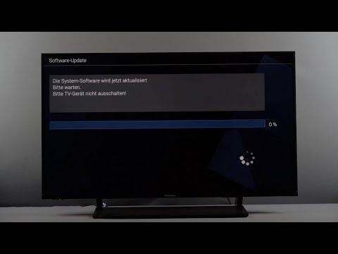Firmware-Update Panasonic TV