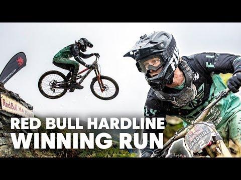 Bernard Kerr Strikes Back at Red Bull Hardline | Winning Run 2019