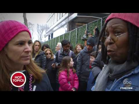 Whoopi Goldberg At The Women's March In New York City | The View