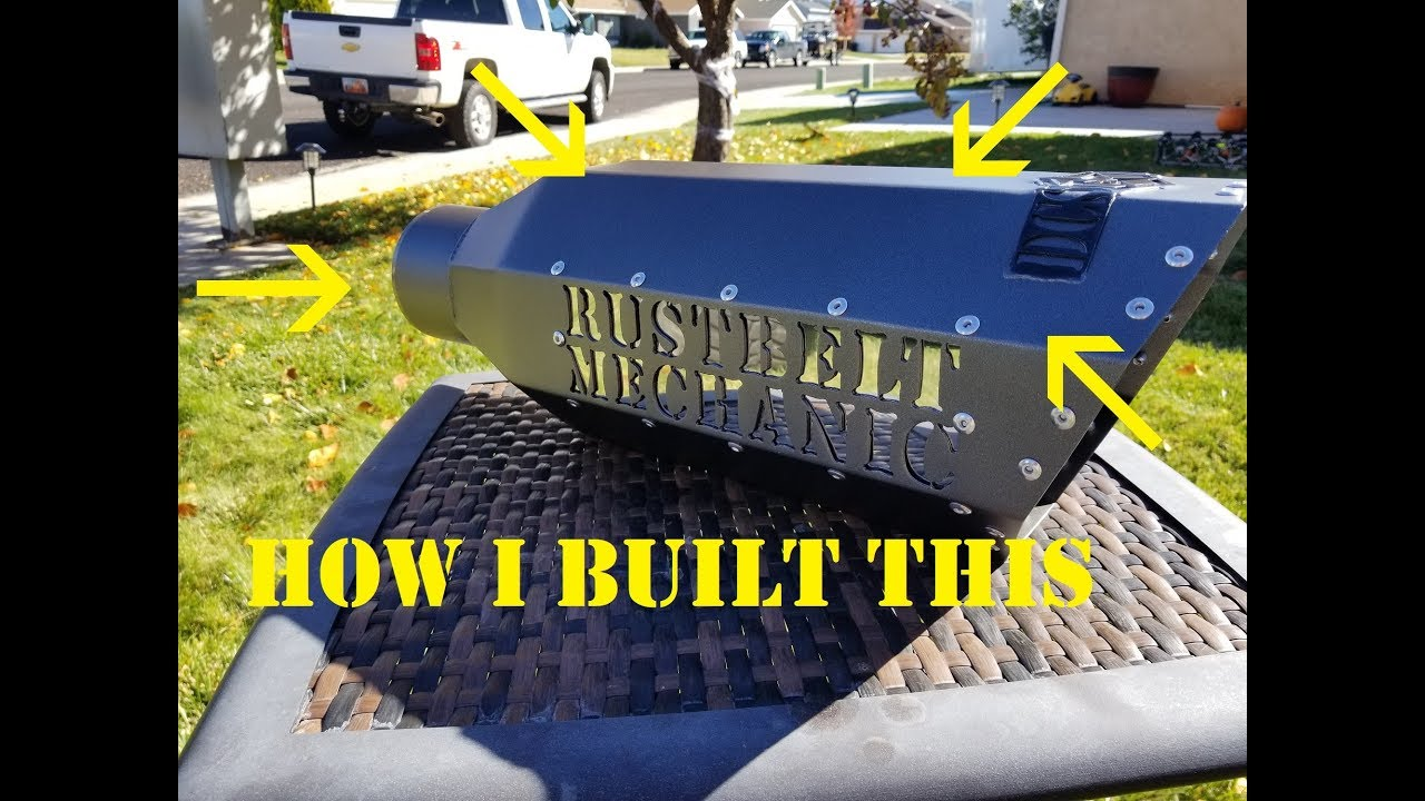how to build a badass exhaust tip daily work vlogs 7 stainless inlaid coned inlet octagon tip