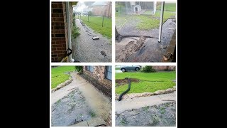 French Drain Put to the Test