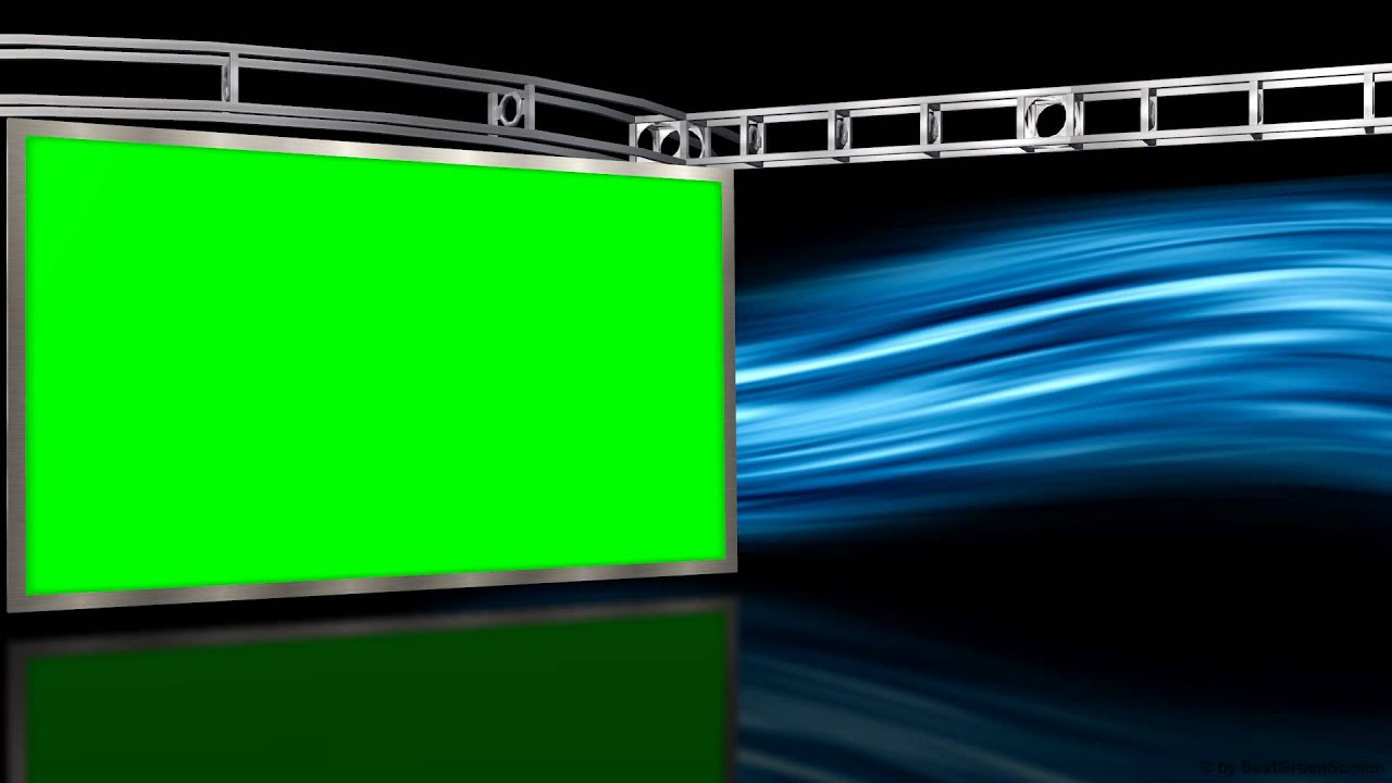 virtual studio with green screen wall and motion background free download link youtube
