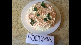 Салат с корейской морковью: рецепт от Foodman.club