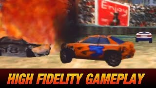 Destruction Derby 64 for Nintendo 64 (High Fidelity Gameplay)