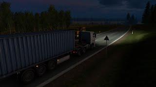 Euro Truck Simualtor 2 Офисная Бумага из Калуги в Псков часть 2(, 2015-09-27T16:11:15.000Z)
