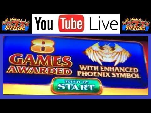 NEW GAME 🎰 FIRE PHOENIX BURST MAX BET Slot Machine BONUS FREE GAMES with RETRIGGER - Let's TRY it!