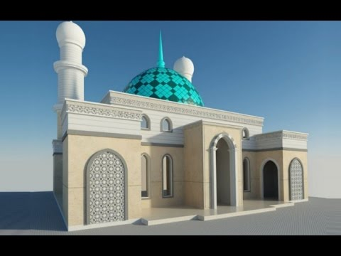 SketchUp tutorial   how to modeling enamel dome