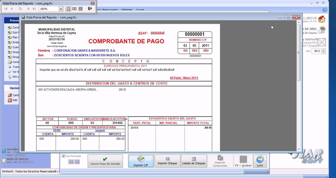 Comprobante Pagos Nomina En Excel Como Generar Un