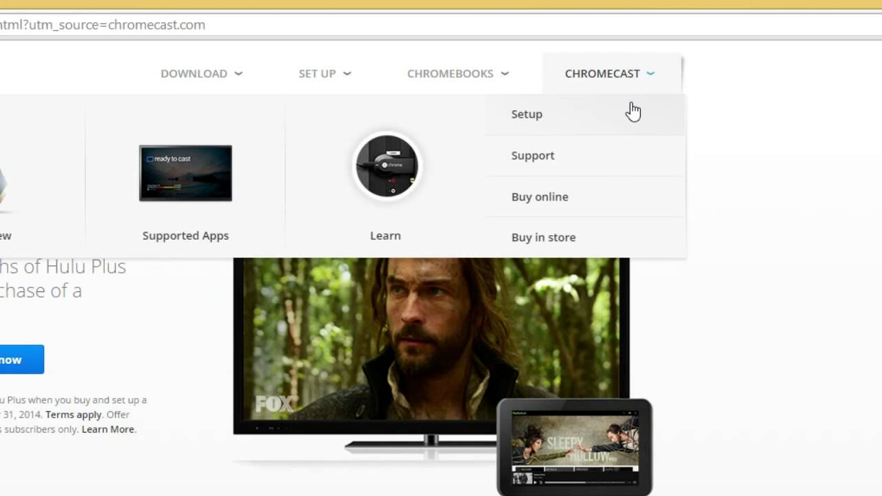 PictaCast for Chromecast - Installing the Google Cast Extension