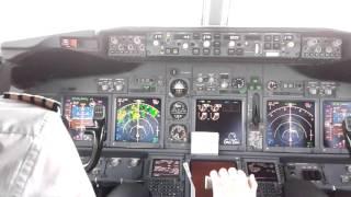 Ryanair landing iin Dublin (cockpit view)
