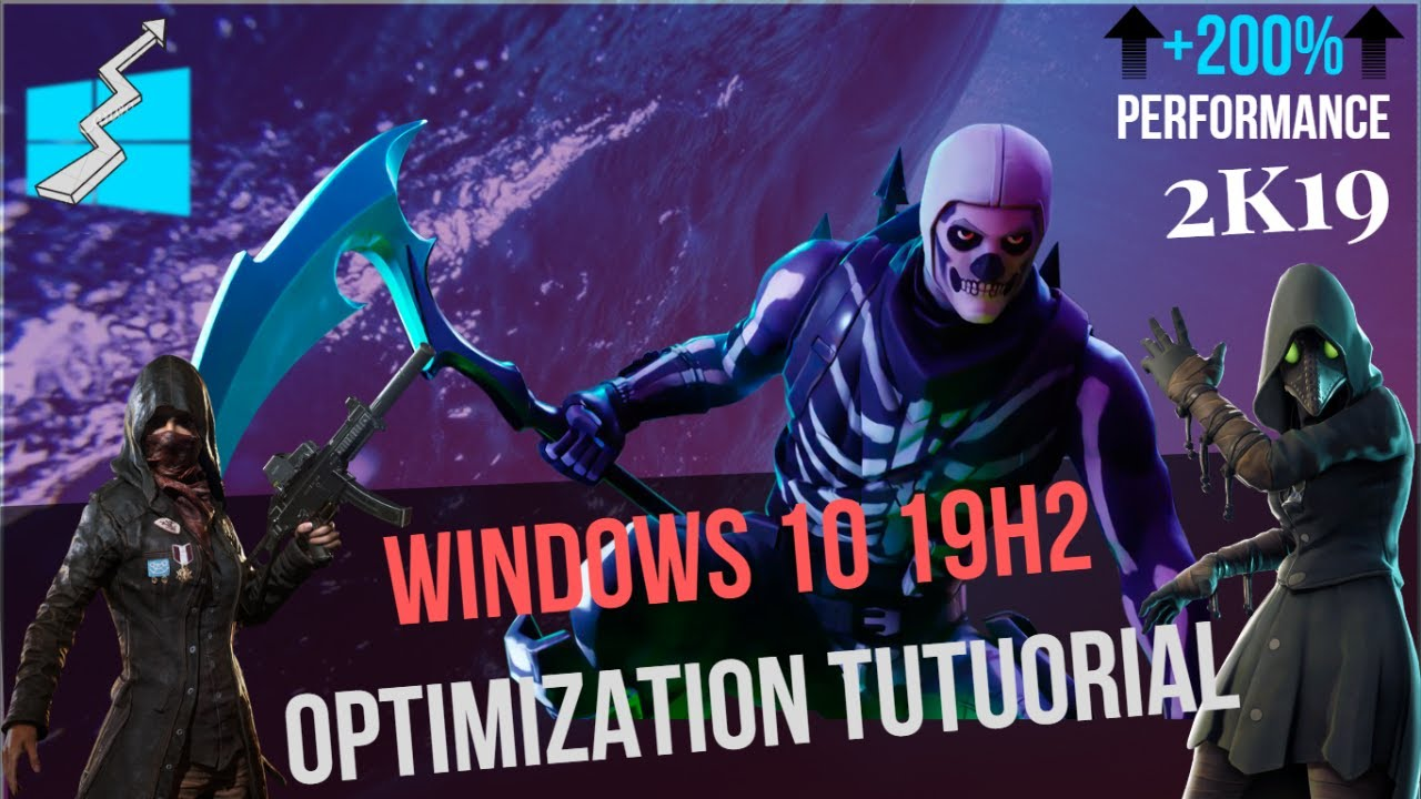 How To Optimize Windows 10 1903 for Gaming | How To Speed up Windows 10  1903 | Make Faster | 2019