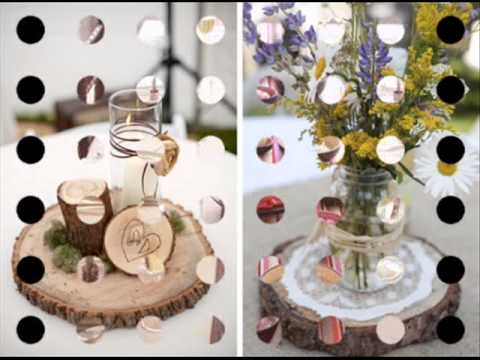 Ideas para decorar tu boda centros de mesa youtube - Ideas mesas de centro ...