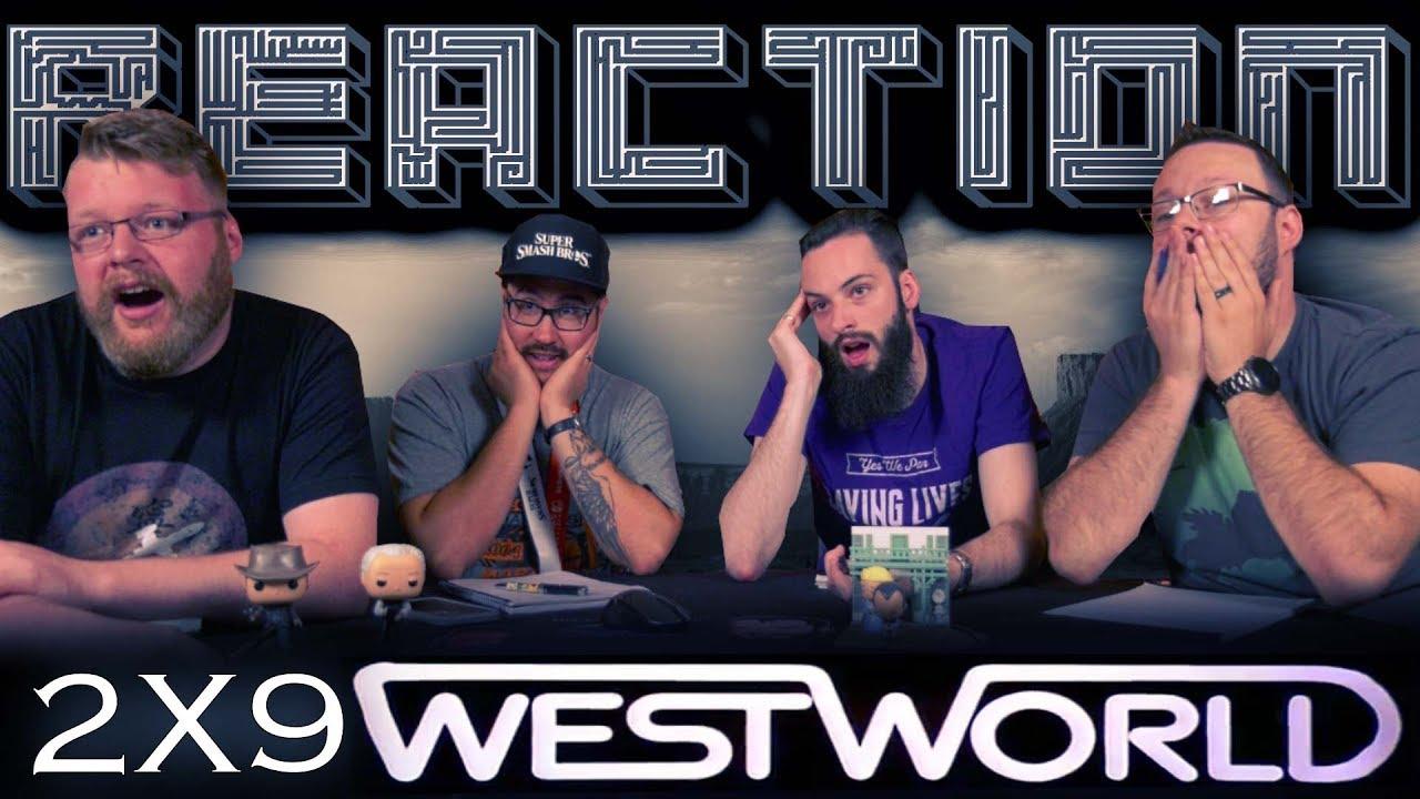 "Download Westworld 2x9 REACTION!! ""Vanishing Point"""