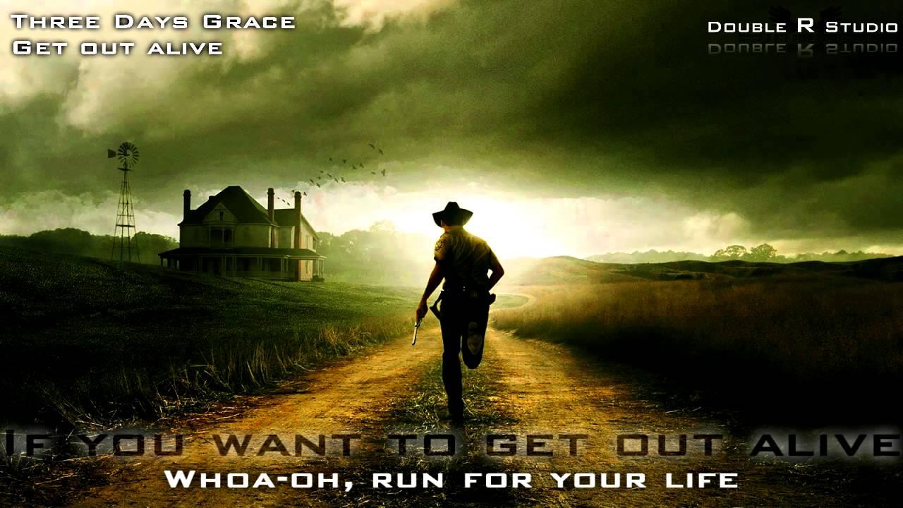 Three Days Grace - Get Out Alive lyrics - YouTube
