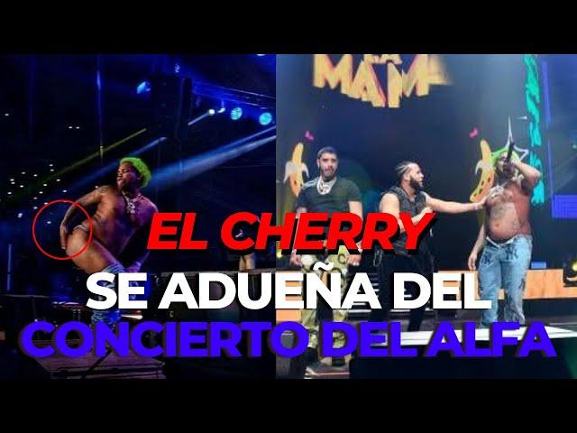 EL CHERRY SE ADUEÑA DEL CONCIERTO DEL ALFA
