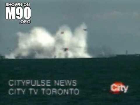 Plane Crashes into Ocean