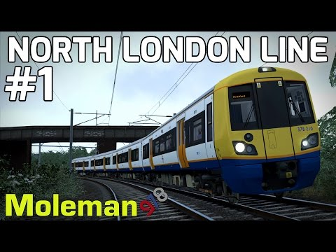 Train Simulator 2016 | North London Line | Class 378 Capitalstar | #1
