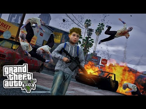 KARL-HEINZ VS. ZOMBIES 2.0 😨 – GTA 5 Mod