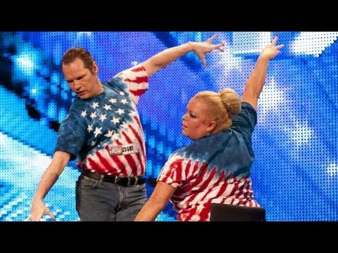 Strictly Wheels wheelchair dance - Britains Got Talent 2012 audition - UK version