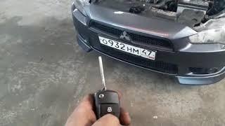 Установка автосигнализации для автомобиля Мицубиси Лансер десятый- 2 ч.