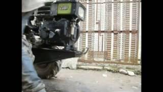 Ремонт двигателя мотоблока Зубр. Engine repair of the motor-block Zubr.
