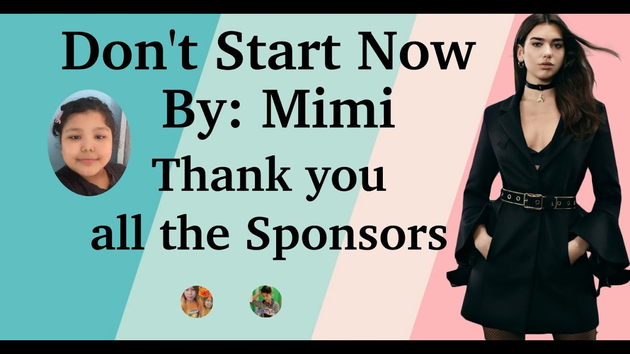 Don't start now by Mimi
