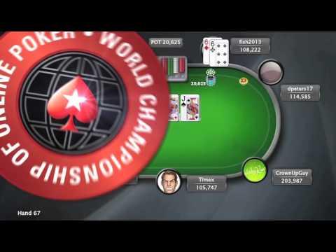 World Championship of Online Poker 2015 (WCOOP) - Event 47 - $51k Super High Roller | PokerStars