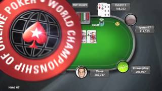 World Championship of Online Poker 2015 (WCOOP) - Event 47 - $51k Super High Roller | PokerStars