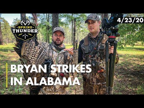 Producer's First Alabama Turkey   Tyler Jordan Films   Realtree Spring Thunder