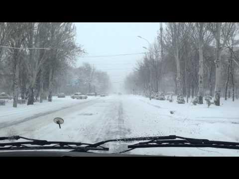 Bishkek Last Snowfall Of The season