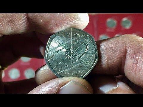 ISAAC NEWTON 50p COIN || 2017 (ROYAL MINT)