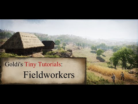Medieval Dynasty How To: Assign fieldworkers |