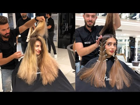 Top Hairstyles And Hair Trends by Mounior Salon | Amazing Hair Color Transformations