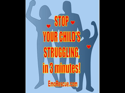 Stop Your Child's Struggling in School, Work, Life