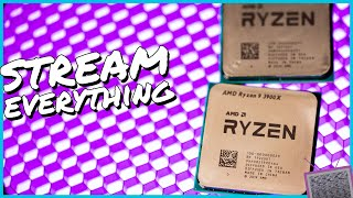 Are these the BEST CPUs for Streaming? Ryzen 3700X & 3900X Stream Optimization Guide & Review