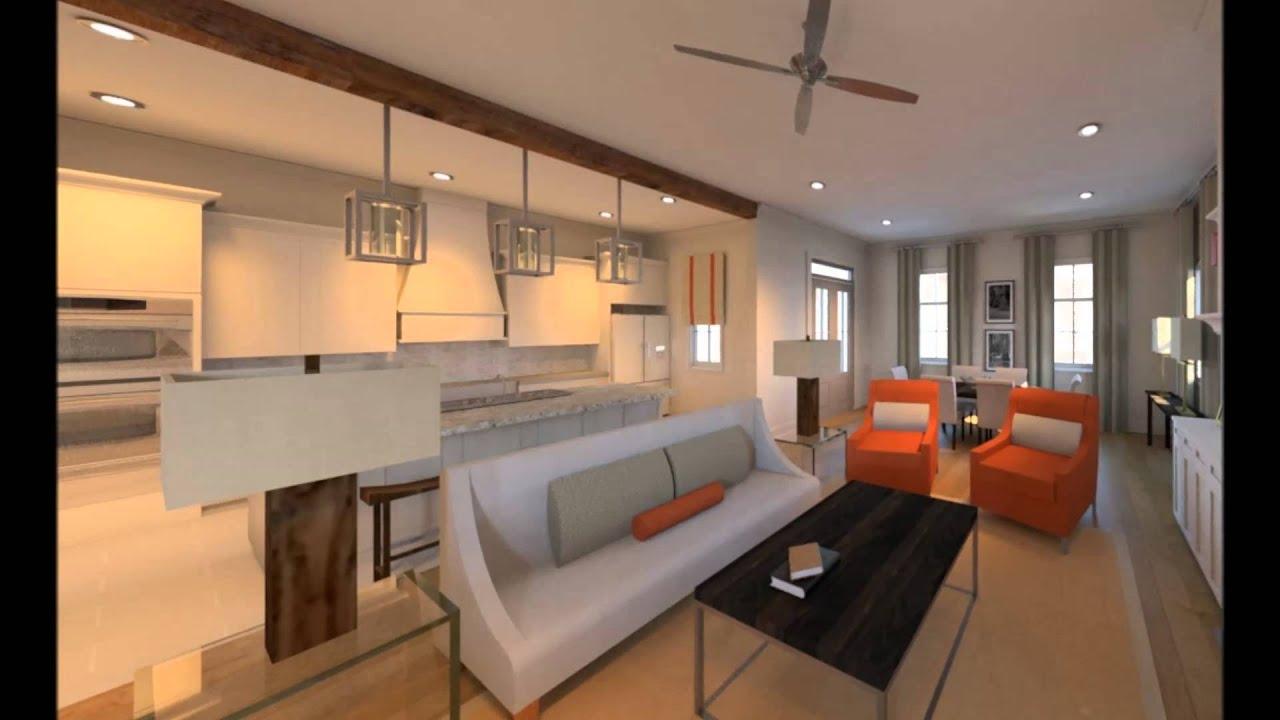 The Hampton Floor Plan - Americana in Zachary, LA - YouTube