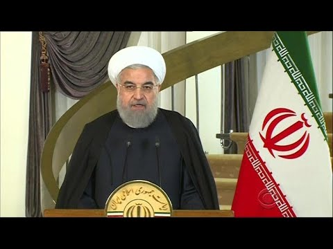 Iranian president pushes back against Trump's speech, vows to stick with nuclear deal
