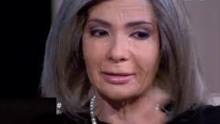 بالفديو دموع منى زكى وصدمتها عند رؤية ملامحها فى عمر ال 80 . حكايتى مع الزمان