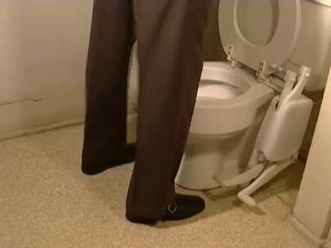Foot Operated Toilet Seat The Easyseat