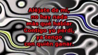 Ahora Te Puedes Marchar (con letra) - Luis Miguel (Karaoke)