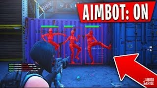 How to have aimbot on fortnite ps4 (Season 9)