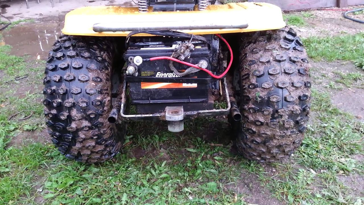 Mtd Mud Mower : Mtd mud mower with a pulley swap and duel straight youtube