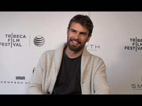 Theo James Talks 'Franny' and 'Allegiant' at Tribeca Film Festival